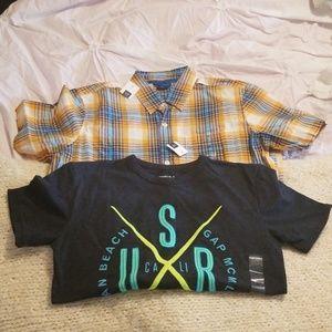 Gap Boys Shirt Bundle, NWT!